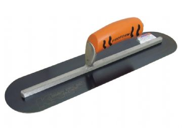 "Blue Steel Pool Trowel - 16"" x 4"" (407mm x 102mm) Long Shank  Proform handle Kraft Tools"